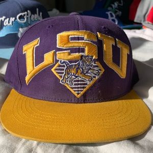 LSU Tigers Snapback Hat